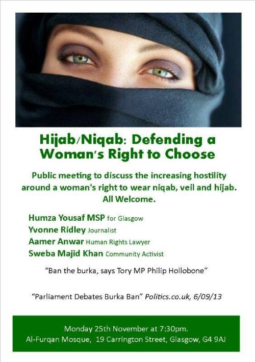 Hijab/Niqab: Defending a Woman's Right to Choose