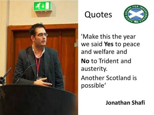 Another Scotland is Possible- Jonathan Shafi
