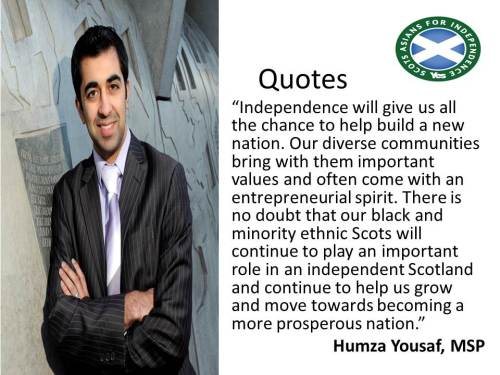 Quotes by SAFY members: Humza Yousaf