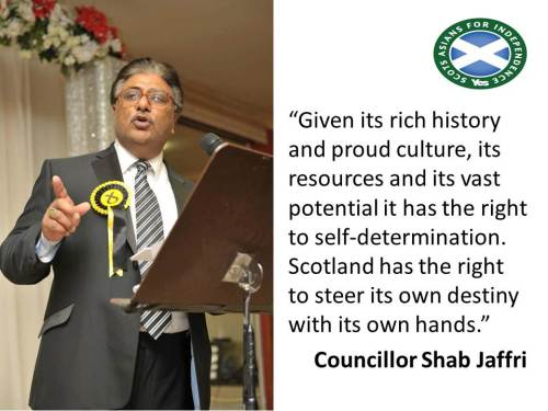 Quotes from SAFY members Councillor Shab Jaffri