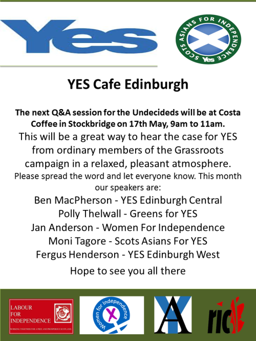 YES CAFE EDINBURGH