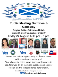 Public Meeting dumfries and galloway