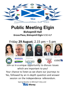 Public Meeting Elgin