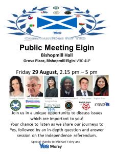 Public Meeting Elgin