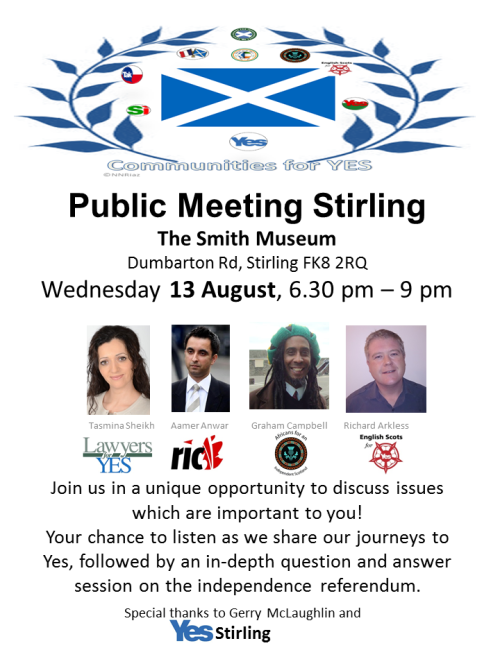Public Meeting Stirling